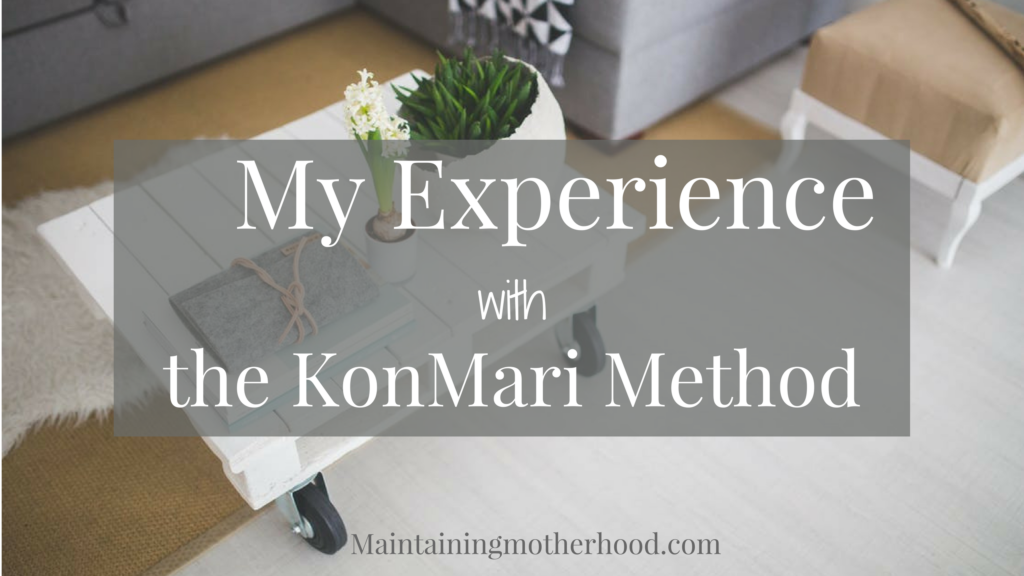 Want to know what I did and didn't like, and how I will change since reading Marie Kondo's book? This is my take on the KonMari Method and how it is changing the way we live and think!