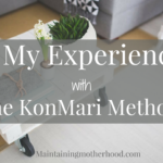 My Experience with the KonMari Method