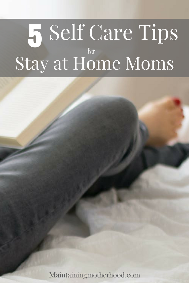 Are you stuck in a mom funk? Is it hard to see past the mundane tasks of motherhood? Try these 5 self care tips to breathe new life into motherhood today and combat the mom burnout!