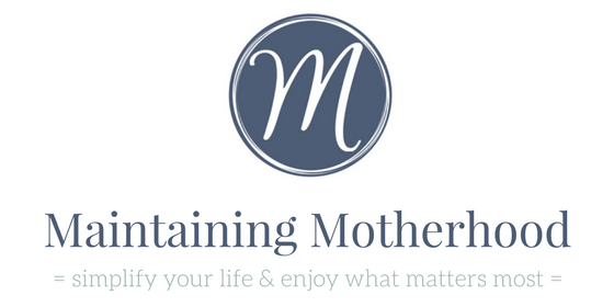 Maintaining Motherhood