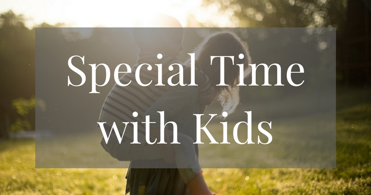 Are your kids feeling lost in the mix of family life? Here are great tips to establish one on one special time to help your children feel loved and important!