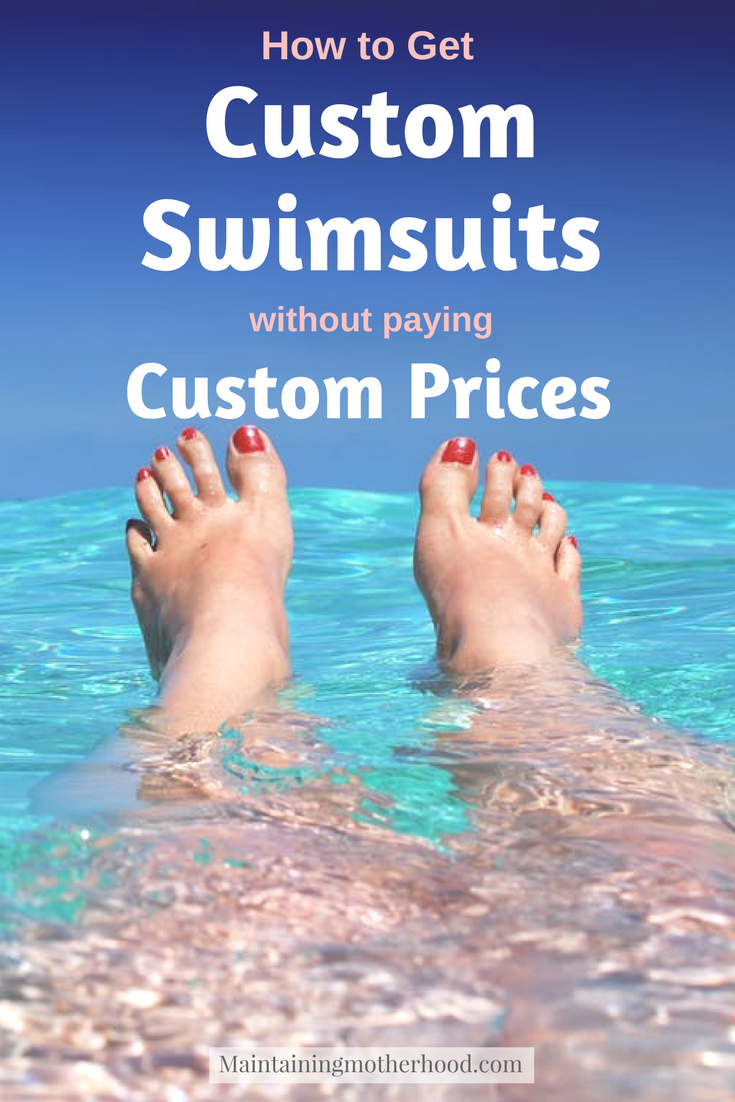 Have you been searching for the perfect swimsuit to last you season after season? Do this years styles not suit you? Learn how to find a custom swimsuit for a fraction of the price!