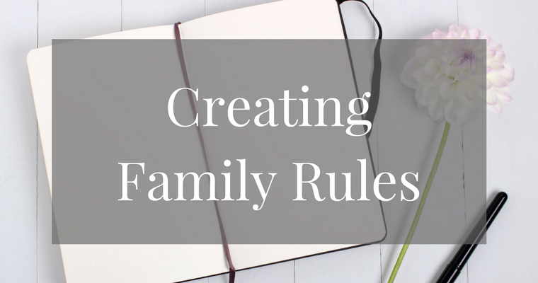 Family Rules for Kids Free Printable Sign