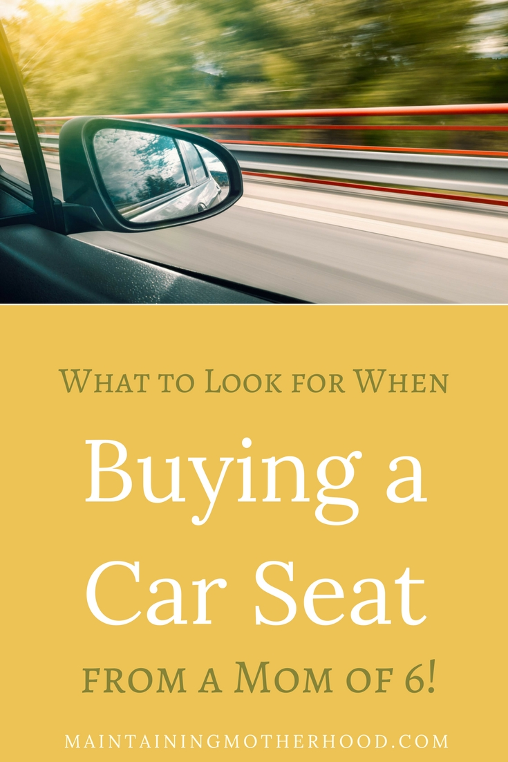 Comprehensive Car Seat Buying Guide