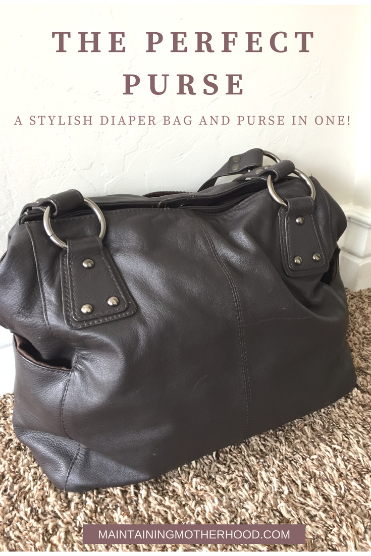 Stylish Diaper Bag Purse, Purse Diaper Bag