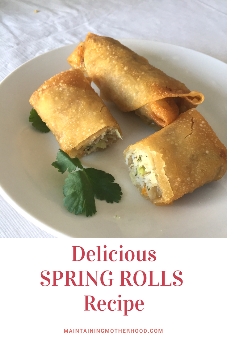 Delicious Spring Rolls Recipe