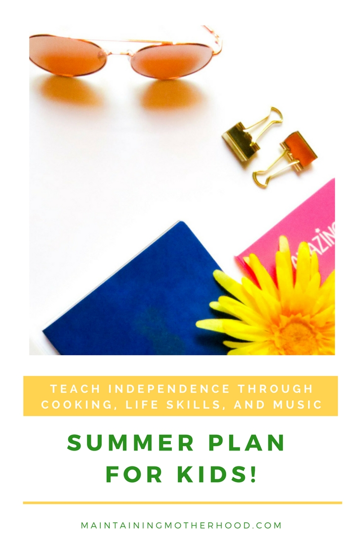 Summer Fun Plan for Kids