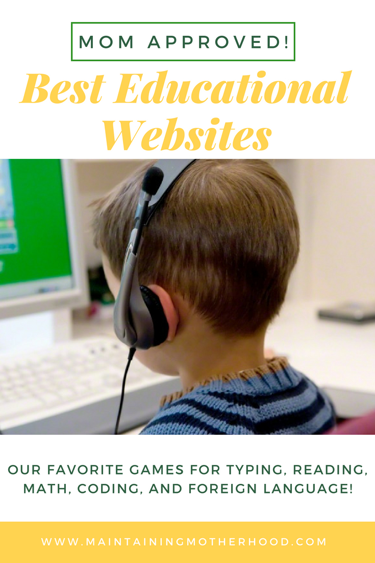 Fun and Free Educational Online Game Websites for Kids