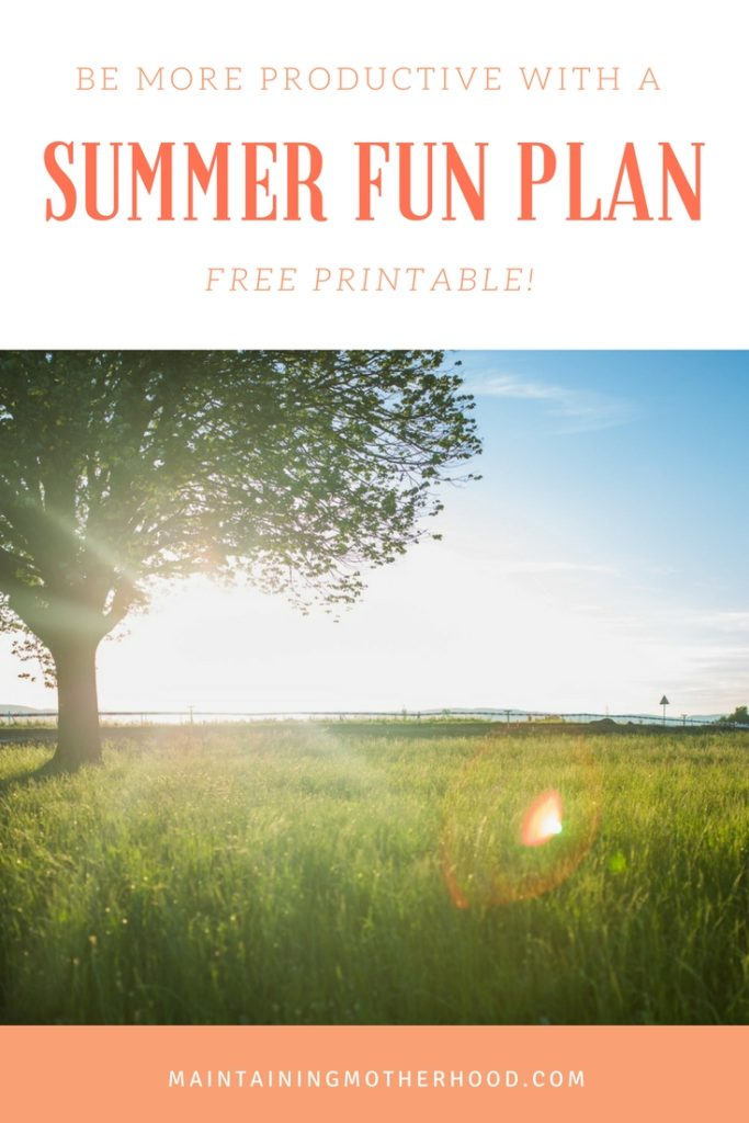 Are you looking for ways to keep your summer productive AND fun? Here is a great list of themed days to create your own summer fun plan!