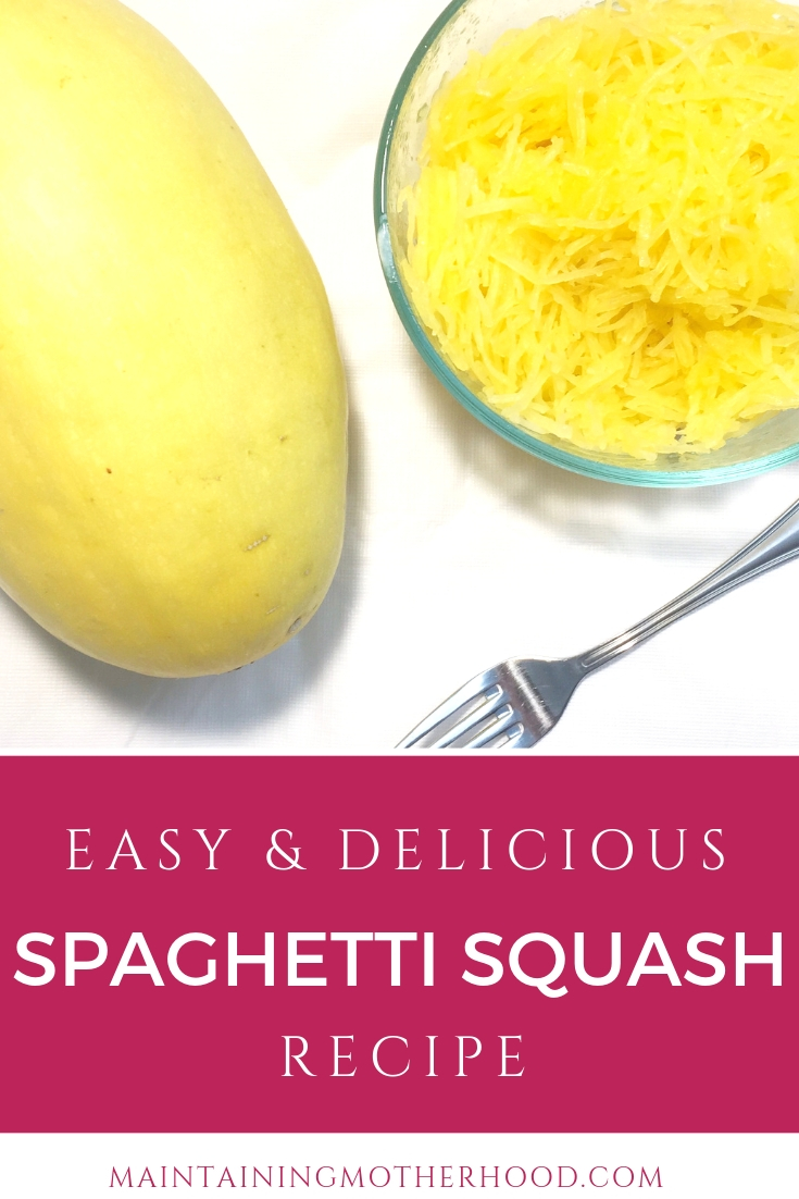 Are you looking for a quick and easy way to cook spaghetti squash? Here is our favorite recipe that can be used as the main dish or a side.