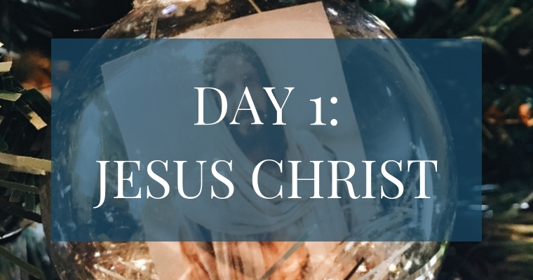 In our Christmas Countdown Book, Day 1 focuses on Jesus Christ. See what art, scripture, song, video, and ornament we used to help us remember Christ.