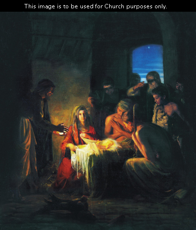 In the Christmas Countdown Book, Day 6 is the Birth in a Manger. See what art, scripture, song, video, and ornament we used to help us remember Christ.