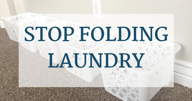 Tired of spending loads of time on folding laundry only to find the piles shoved into dresser drawers? Find the solution that will save you time and sanity!