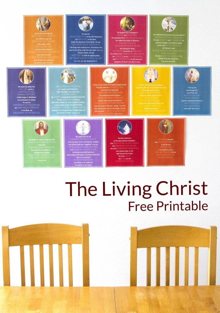 Have you tried memorizing The Living Christ with no success? Find great tips for memorization and a free church quiet book printable!