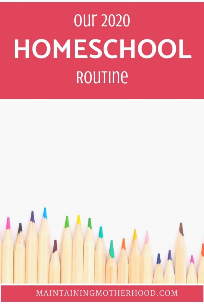 Are you new to homeschooling or looking to shake up your routine? Here is our 2020 homeschool routine and tips on how to create your own successful routine!