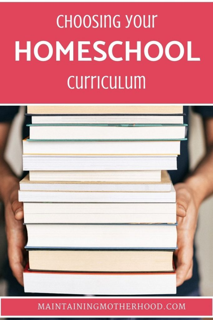 With so many options, how do you choose a homeschool curriculum? Here's a step by step guide to choosing the best homeschool curriculum!
