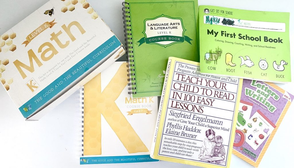 Wondering how to homeschool for Preschool and Kindergarten? Here are some of our tips, tricks, and favorite items to use!