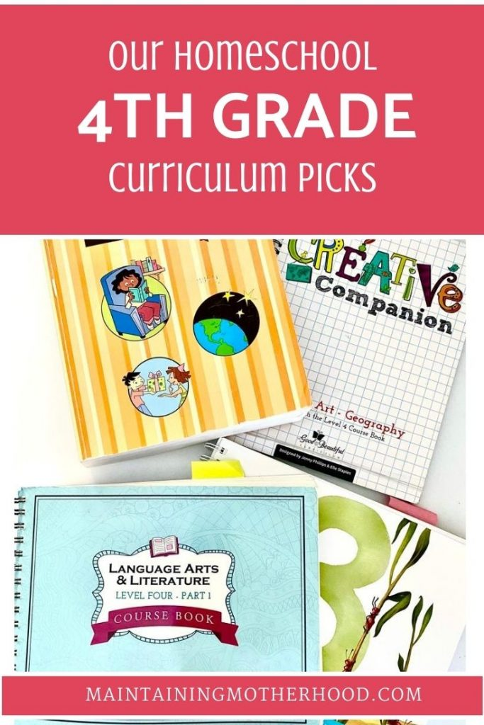 Wondering what we're using to teach 4th Grade this year? Here's our comprehensive list of curriculum picks for 4th Grade, 2020.