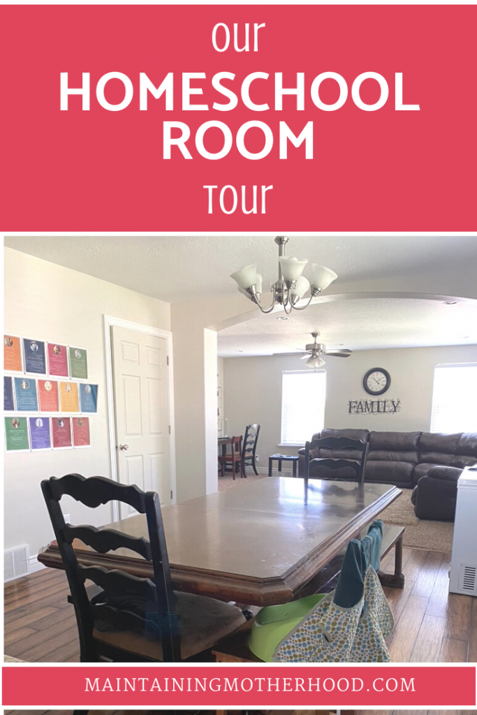 Are you setting up your homeschool room on a budget? Let me reassure you that you can succeed even with a simple homeschool space!